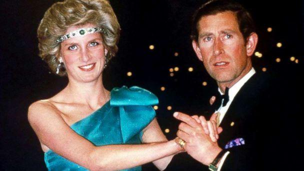 PHOTO: Prince Charles dancing with his wife, Princess Diana, during their official tour of Australia, Oct. 1, 1985, in Melbourne, Australia. (Tim Graham/Getty Images)
