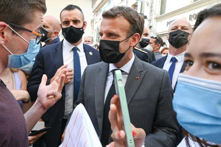 Macron is known to be fond of meeting the crowds, and has said he has no plans to stop meeting the public in this way