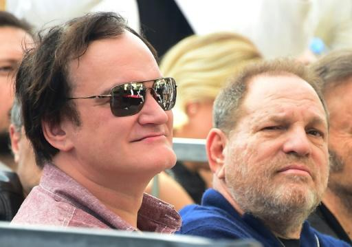 Harvey Weinstein, once the toast of Hollywood but now disgraced for sex crimes, shown here in 2016 with with filmmaker Quentin Tarantino