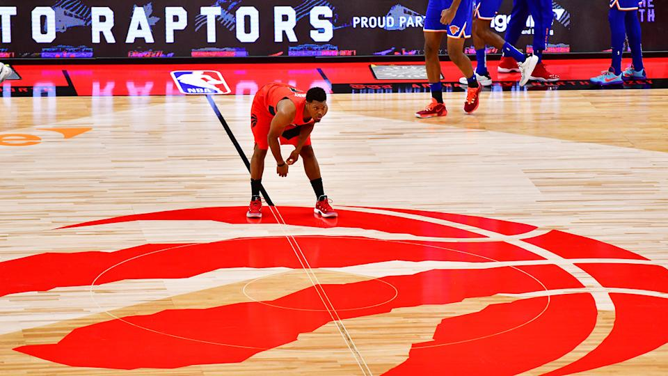 Kyle Lowry just deserves to be happy, wherever that ends up being. (Photo by Julio Aguilar/Getty Images)