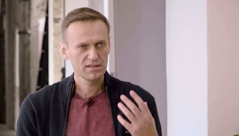 Chemical weapons body confirms nerve agent Novichok in Navalny's blood