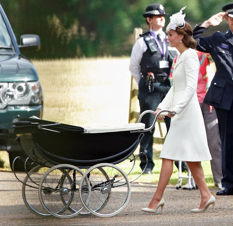 Kate Middleton Will Be Pushing Royal Baby 3 In This Carriage