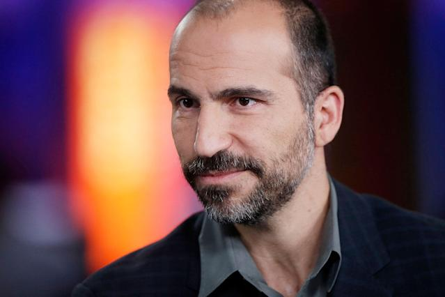 Uber's new CEO Dara Khosrowshahi apparently owes Spotify Daniel Ek for recommending him to Uber's board for consideration.