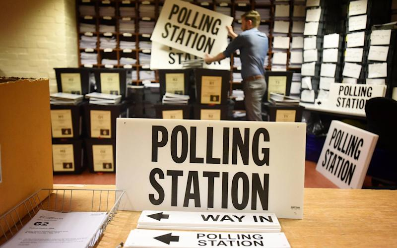 Polling station  - Credit: Paul Kingston / NNP