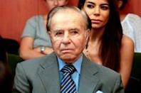 At 86, Argentine ex-leader eyes reelection -- and immunity