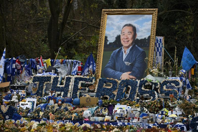 The popular late chairman of Leicester City Vichai Srivaddhanaprabha also dreamt of success on the race track and should one of the horses he bought Bangkok win the Epsom Derby on Saturday it promises to be a very emotional winners enclosure (AFP Photo/Paul ELLIS)
