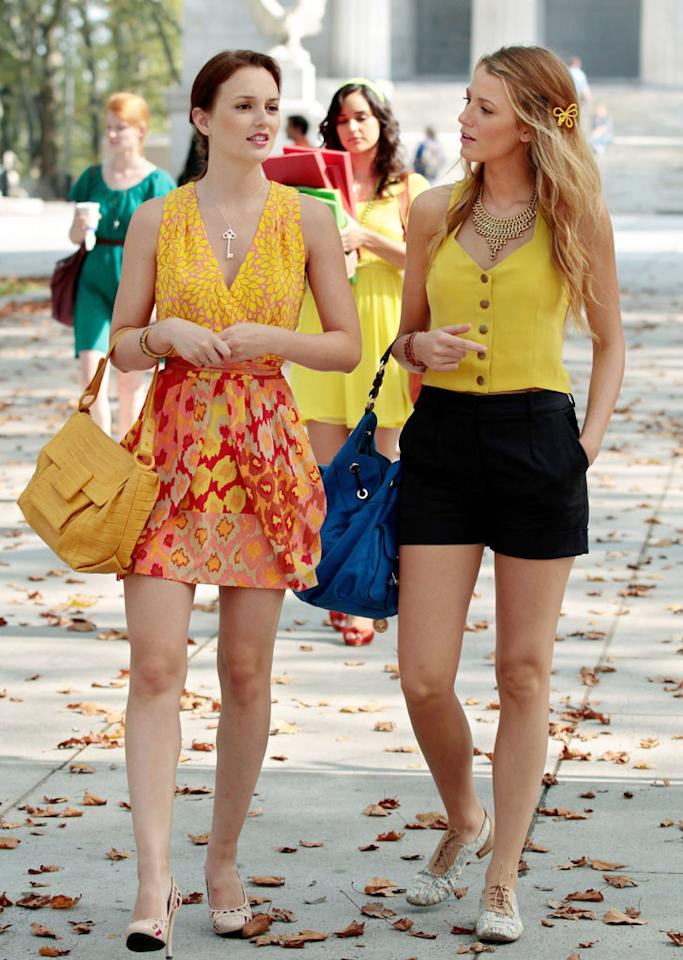 <b>BEST COUPLE<br>Blair </b>(Leighton Meester)<b> and Serena</b> (Blake Lively)<br><br>Serena and Blair have been the best of friends and the worst of frenemies. They've gone through their ups and downs -- dating each other's exes, sabotaging plans, even engaging in several brawls. They bring out the best and worst in each other. But their relationship was the one that lasted, and they still -- and will always -- love each other.