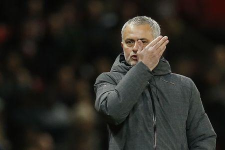 Britain Football Soccer - Manchester United v FC Rostov - Europa League Round of 16 Second Leg - Old Trafford, Manchester, England - 16/3/17 Manchester United manager Jose Mourinho Reuters / Andrew Yates Livepic