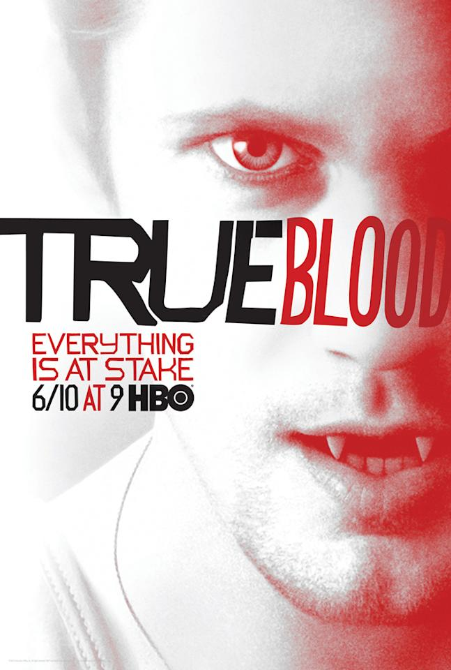 """True Blood"" Season 5 poster featuring Eric Northman (Alexander Skarsgård)"