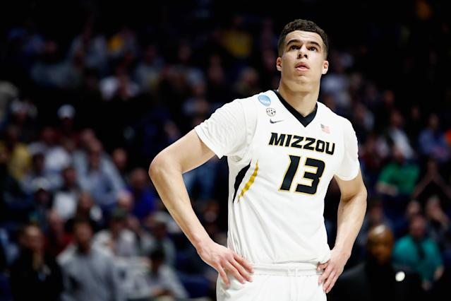 "<a class=""link rapid-noclick-resp"" href=""/ncaab/players/141191/"" data-ylk=""slk:Michael Porter Jr"">Michael Porter Jr</a>. said on Monday that he's ""feeling great"" ahead of Thursday's NBA draft, and that there is ""no risk"" of re-injuring his back after multiple health concerns. (Getty Images)"