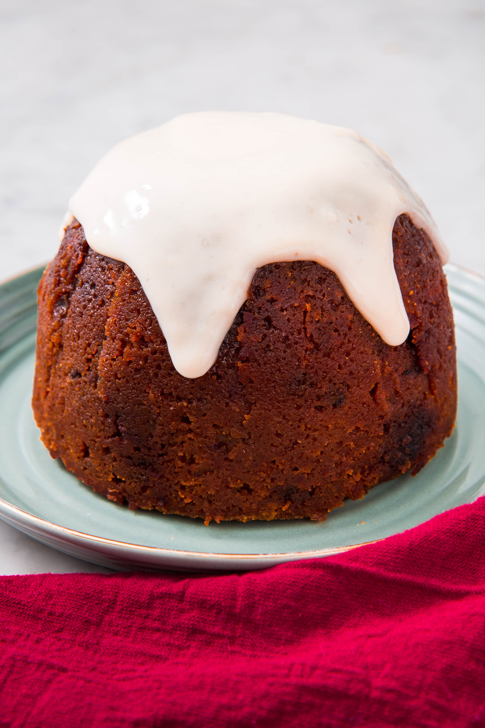 """<p>This will be a lighter addition to your Christmas desserts!</p><p>Get the recipe from <a href=""""https://www.delish.com/holiday-recipes/christmas/a24235301/gluten-free-christmas-pudding/"""" rel=""""nofollow noopener"""" target=""""_blank"""" data-ylk=""""slk:Delish"""" class=""""link rapid-noclick-resp"""">Delish</a>. </p>"""
