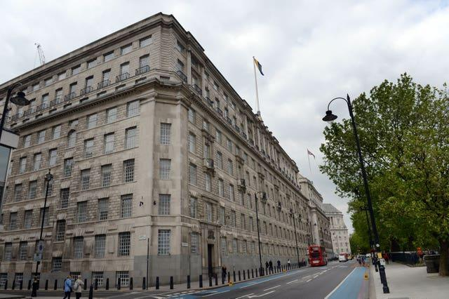 The HQ of MI5 in London (Anthony Devlin/PA)