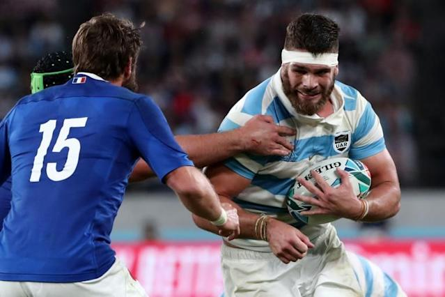Argentina international forward Marcos Kremer was unveiled as Stade Francais' newest recruit on Tuesday, on a three-year deal until 2023 (AFP Photo/Behrouz MEHRI)