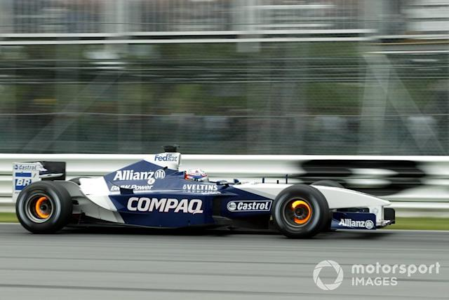 "2002: Williams-BMW FW24 <span class=""copyright"">Russell Batchelor / Motorsport Images</span>"