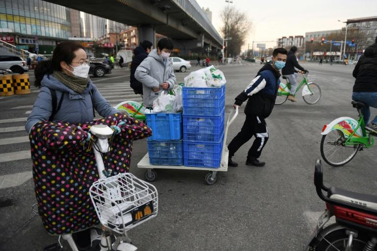 Some Chinese firms have turned to selling fresh and frozen products directly to communities