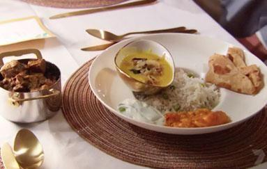 The meal that made everyone cry! Photo: Channel 7