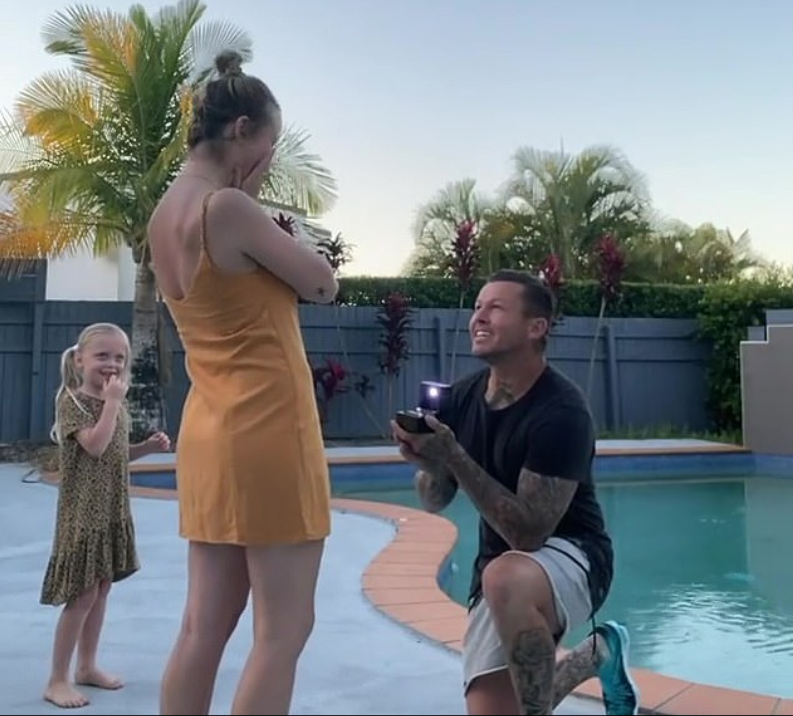 susie bradley todd carney surprise proposal