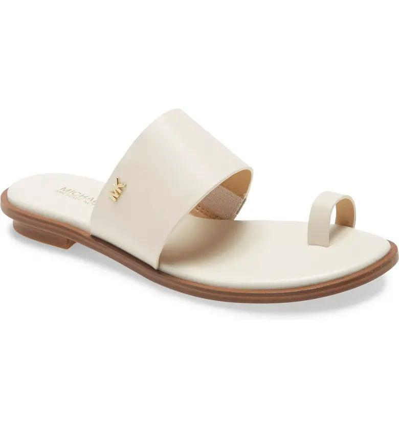 <p>These <span>Michael Michael Kors August Slide Sandals</span> ($69) look great with dresses.</p>