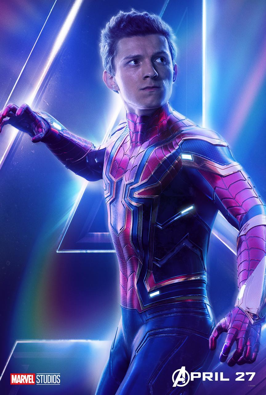 <p>Tom Holland dons the Iron Spider armor for <i>Infinity War</i>. (Photo: Marvel Studios) </p>