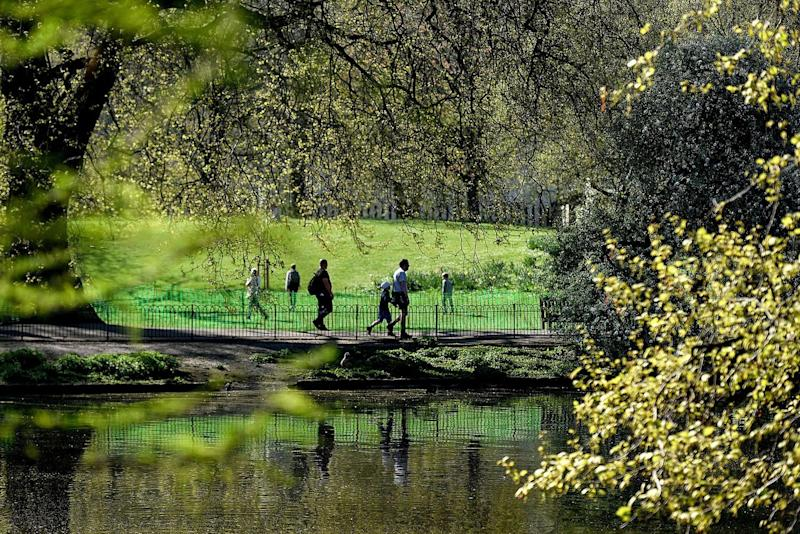 Spring in your step: The most Instagrammable green spaces in London: Getty Images