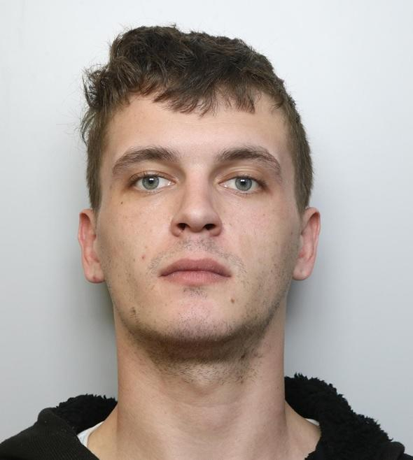 Jordan Howlett, 24, was addicted to crack cocaine and told friends he wanted to take his own life (Picture: SWNS)