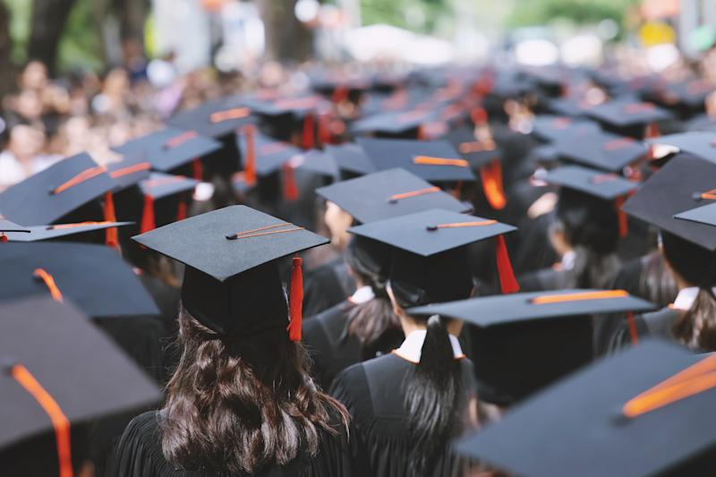 Around 4 per cent of bachelor's degrees in Canada are awarded by colleges (Getty)