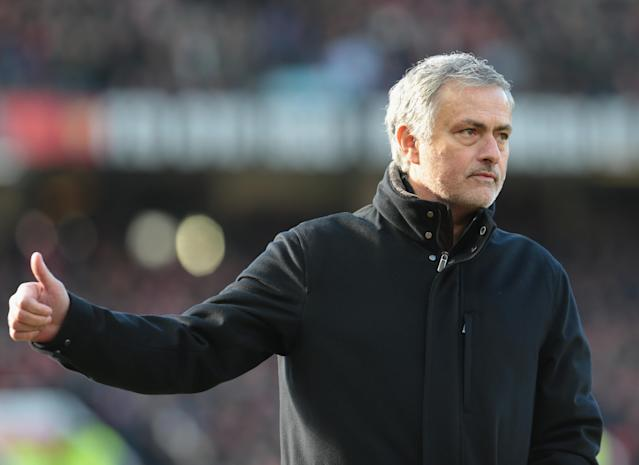 "Jose Mourinho got lucky in <a class=""link rapid-noclick-resp"" href=""/soccer/teams/manchester-united/"" data-ylk=""slk:Manchester United"">Manchester United</a>'s 2-1 victory over <a class=""link rapid-noclick-resp"" href=""/soccer/teams/chelsea/"" data-ylk=""slk:Chelsea"">Chelsea</a>. (Getty)"