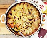 """<p>This <a href=""""http://www.fabfood4all.co.uk/one-pot-minced-beef-hotpot/"""" rel=""""nofollow noopener"""" target=""""_blank"""" data-ylk=""""slk:recipe"""" class=""""link rapid-noclick-resp"""">recipe</a> is cheap to make and packed full of root veggies with a hint of horseradish. Traditional comfort food at it's best. </p><p><i>[Photo: fabfood4all]</i></p>"""