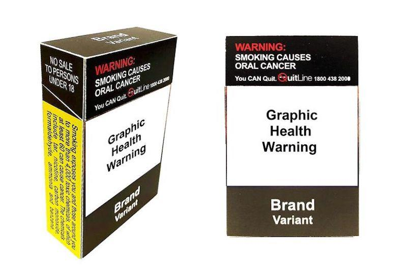 Guidelines for plain packaging changes