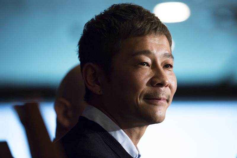 Billionaire Maezawa says 'free cash' tweet most shared of all time