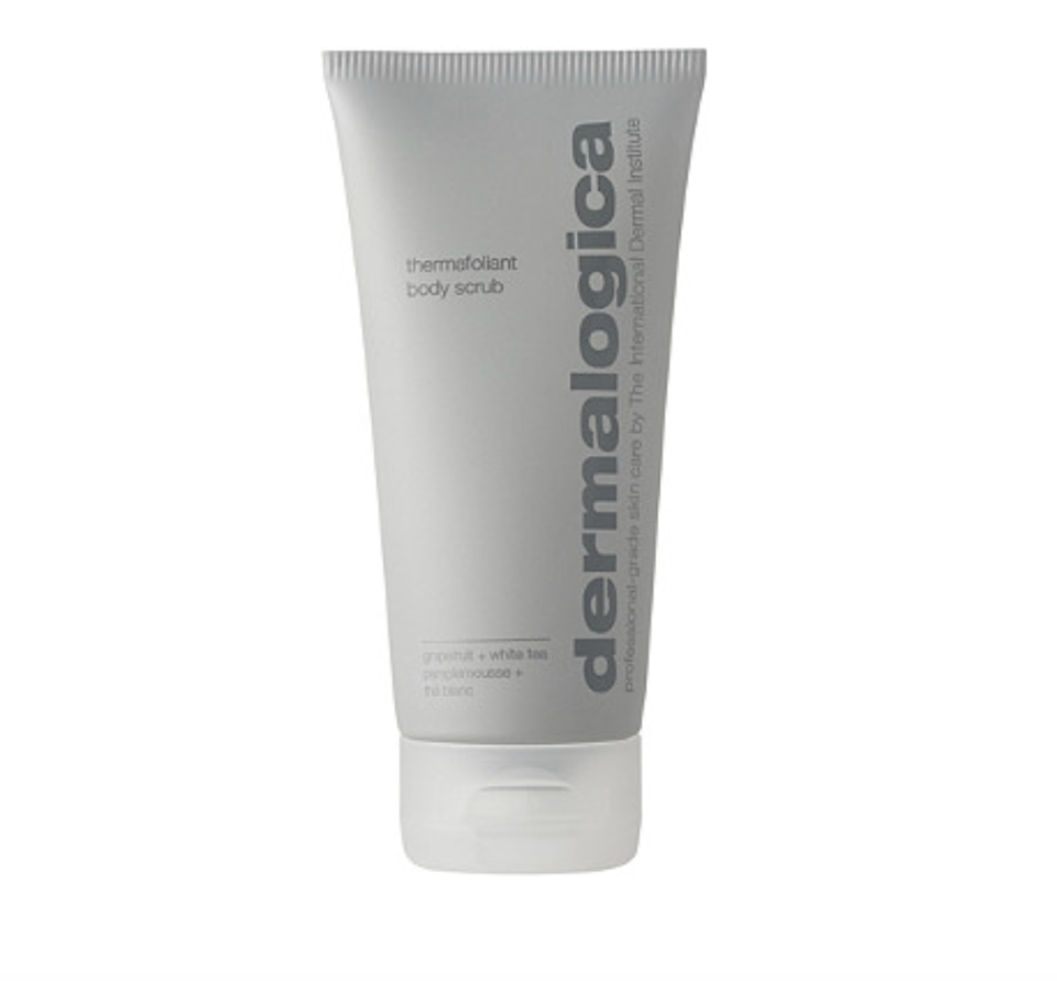 """<p><strong>Dermalogica</strong></p><p>ulta.com</p><p><strong>$44.00</strong></p><p><a href=""""https://go.redirectingat.com?id=74968X1596630&url=https%3A%2F%2Fwww.ulta.com%2Fthermafoliant-body-scrub%3FproductId%3Dpimprod2011169&sref=https%3A%2F%2Fwww.womenshealthmag.com%2Fbeauty%2Fg35928968%2Fbest-body-scrub%2F"""" rel=""""nofollow noopener"""" target=""""_blank"""" data-ylk=""""slk:Shop Now"""" class=""""link rapid-noclick-resp"""">Shop Now</a></p><p>Dermalogica's dual-action exfoliant calls upon Indian bamboo stem and papain to promote cell renewal, while a blend of bio-lipids protect and strengthen the skin barrier, and antioxidant-rich licorice, white tea, and chamomile offer vital nutrients. The gentle scrub is vegan, sulfate- and paraben-free, and features recyclable packaging.</p>"""
