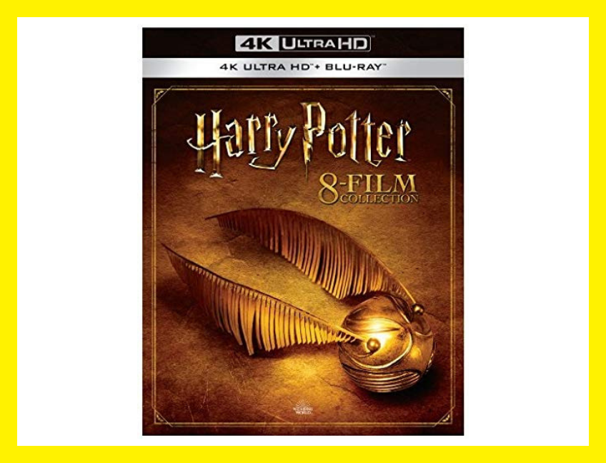Save 58 percent on the Harry Potter: Complete 8-Film Collection on 4K Ultra HD Blu-ray, today only! (Photo: Amazon)