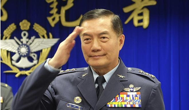 Taiwan's highest ranking general Shen Yi-ming was among those killed in the crash. Photo: AP