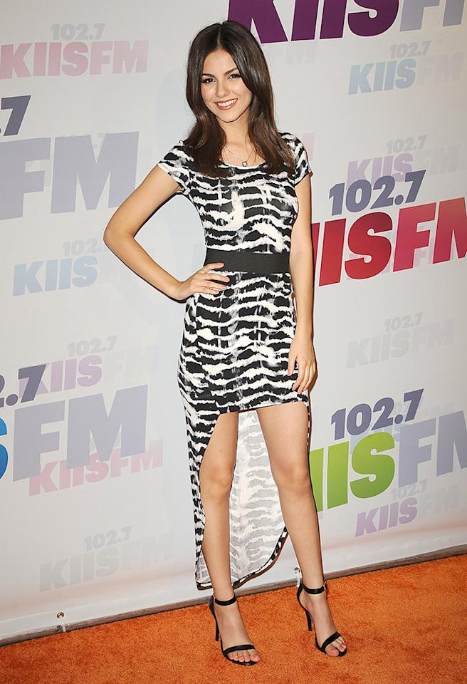 CARSON, CA - MAY 11:  Actress Victoria Justice attends 102.7 KIIS FM's Wango Tango at The Home Depot Center on May 11, 2013 in Carson, California.  (Photo by Jason LaVeris/FilmMagic)