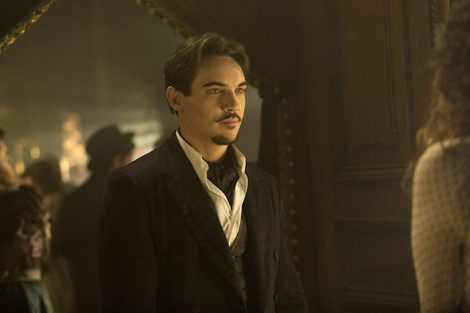 """<p>You may have thought Dracula was cooped up in his castle in Transylvania, but think again. This series takes the famous vampire to the busy streets of 19th century London where he is posing as an American businessman bringing modern science to Victorian Londoners. </p><p><strong>Where to Watch:</strong> <a href=""""https://www.nbc.com/dracula"""" rel=""""nofollow noopener"""" target=""""_blank"""" data-ylk=""""slk:NBC"""" class=""""link rapid-noclick-resp"""">NBC</a></p>"""