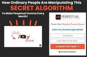 The Perpetual Income 365 program is designed to help you generate income. It was created by Shawn Josiah who got into contact with the special algorithm used by this online marketing tool.