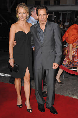"""Premiere: <a href=""""/movie/contributor/1800231183"""">Christine Taylor</a> and <a href=""""/movie/contributor/1800019193"""">Ben Stiller</a> at the Los Angeles premiere of DreamWorks Pictures' <a href=""""/movie/1809769000/info"""">The Heartbreak Kid</a> - 09/27/2007<br>Photo: <a href=""""http://www.wireimage.com"""">Steve Granitz, WireImage.com</a>"""