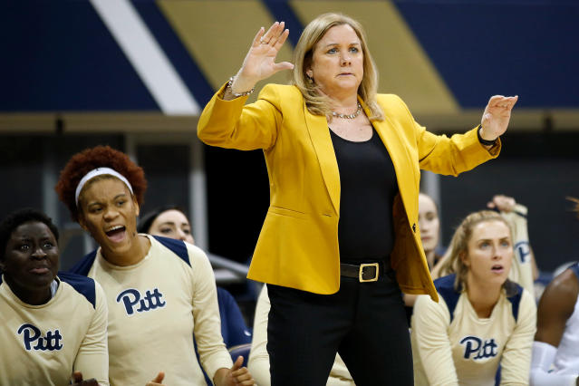 <p><strong>63. Pittsburgh</strong><br>Top 2017-18 sport: women's volleyball. Trajectory: Down. After providing a brief flutter of hope last year by rising to No. 92 nationally, the Panthers sank back to 111th this year. Their inclusion in the Atlantic Coast Conference remains one of the more specious acquisitions in realignment history. </p>