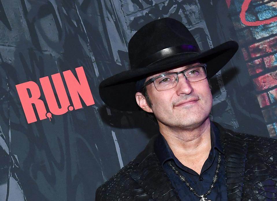 """LAS VEGAS, NEVADA - NOVEMBER 14:  Director and writer of """"R.U.N - The First Live Action Thriller"""" presented By Cirque du Soleil Robert Rodriguez attends the show's grand opening night at Luxor Hotel and Casino on November 14, 2019 in Las Vegas, Nevada.  (Photo by Ethan Miller/Getty Images for Cirque du Soleil)"""