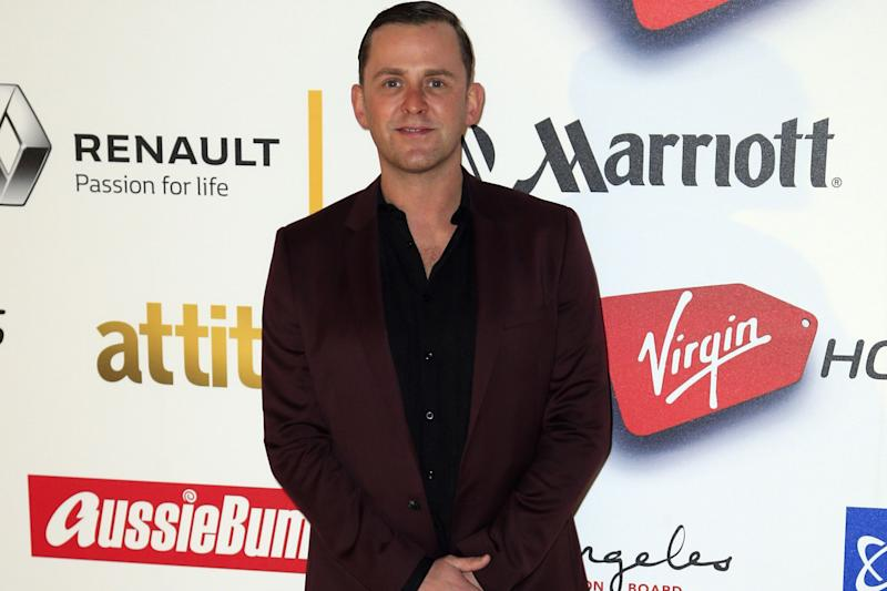 Marathon show: Scott Mills took part in the 24-hour show to raise money for Comic Relief: Jonathan Brady/PA