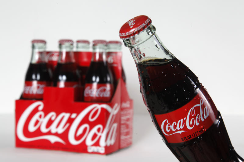 Coca-Cola sells more drinks but soda dips