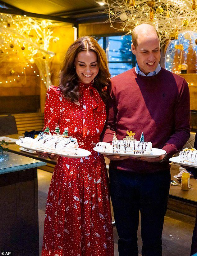 The Duke and Duchess Of Cambridge on A Berry Royal Christmas