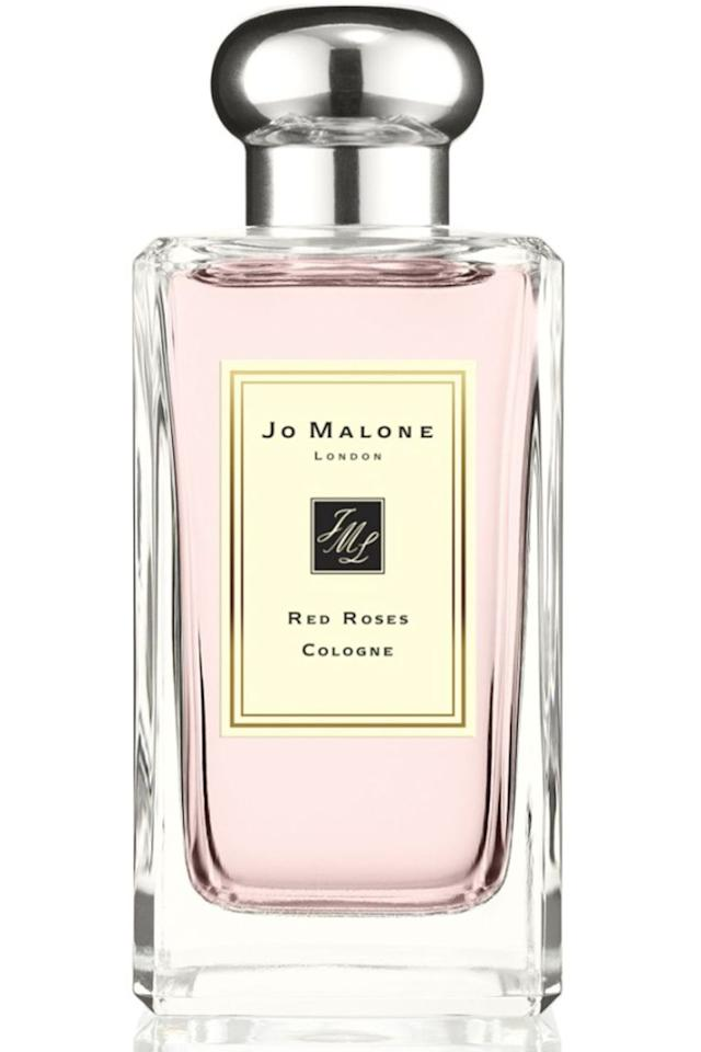 """<p>Imagine a bouquet of exquisite red roses bottled and you've got the true romance of a Jo Malone classic. </p><p><em> Jo Malone London Red Roses Cologne, £94 for 100ml, <a rel=""""nofollow"""" href=""""https://www.jomalone.co.uk/product/3588/10066/fragrances/colognes/light-floral/red-roses-cologne/red-roses-cologne"""">Jo Malone</a></em></p><p><a rel=""""nofollow"""" href=""""https://www.jomalone.co.uk/product/3588/10066/fragrances/colognes/light-floral/red-roses-cologne/red-roses-cologne"""">SHOP</a></p>"""