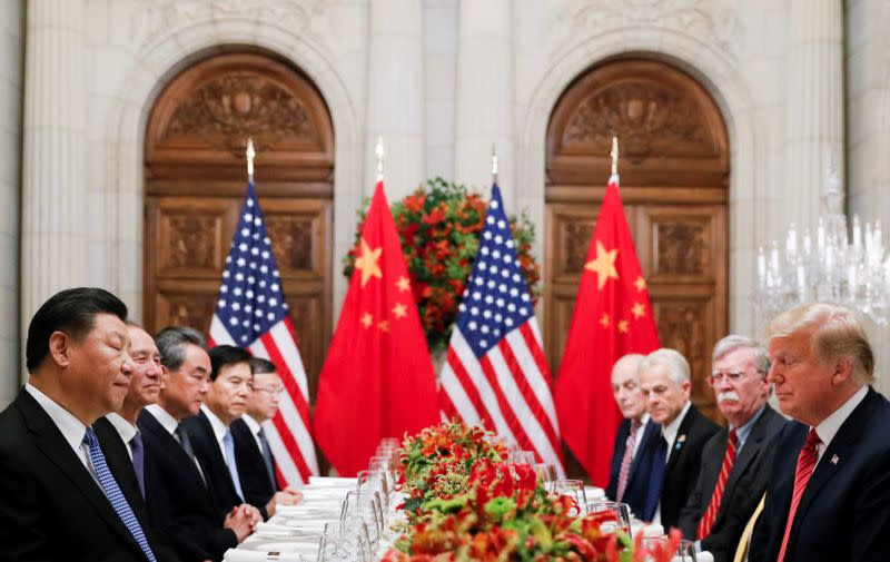 Trump says U.S.-China trade deal will be signed on January 15