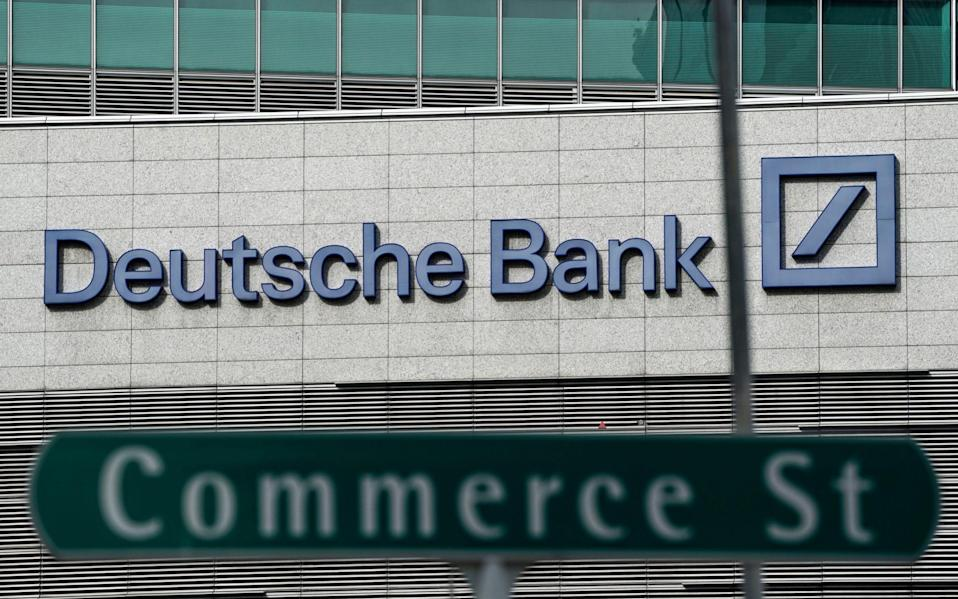 Deutsche Bank AG has reportedly decided to refrain from further business with Mr Trump and his company - EPA