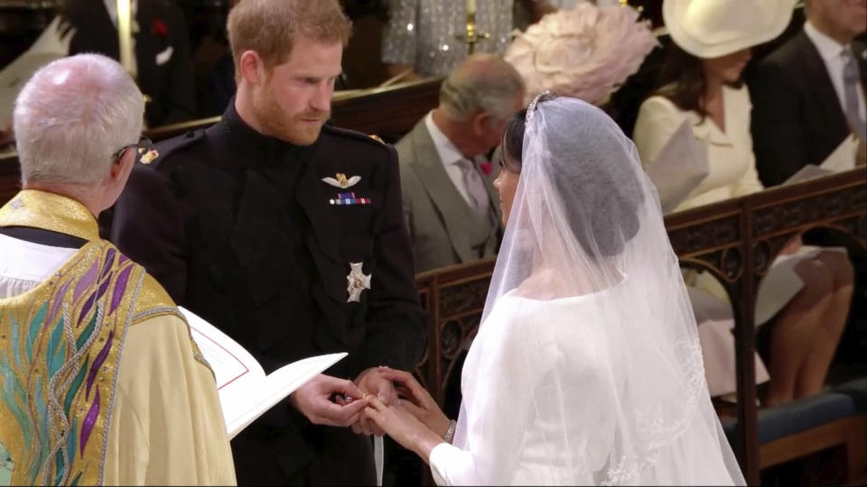 The British-American pair are now officially known as the Duke and Duchess of Sussex.