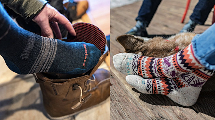 Toasty toes are in your future.