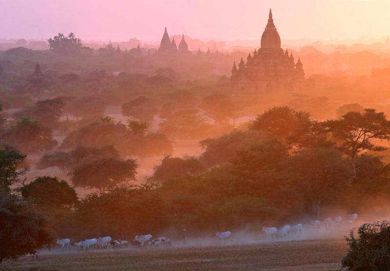 Foreign visitor numbers to Myanmar have surged from less than a million in 2011 to 4.7 million last year (AFP Photo/Ye Aung Thu)