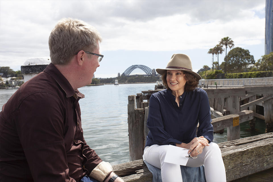 Chris didn't expect her experience on the show would be so emotional and confronting. Photo: supplied.