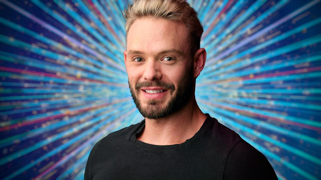 John Whaite will compete in this year's 'Strictly'. (BBC)